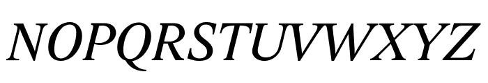 Lido STF CE Italic Font UPPERCASE