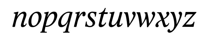 Lido STF CE Italic Font LOWERCASE