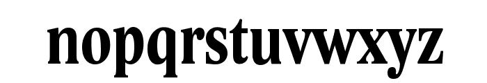 Lido STF Cond CE Bold Font LOWERCASE