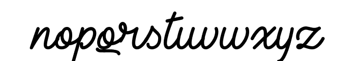 Lie to Me Font LOWERCASE