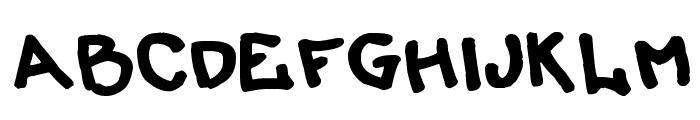 LiersonMattenhauer Font UPPERCASE