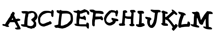 Life is Good Medium Font UPPERCASE