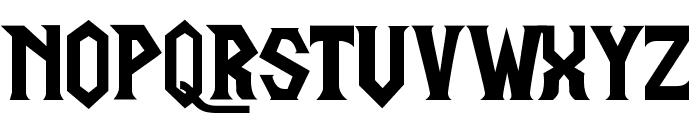 LifeCraftRegular Font UPPERCASE