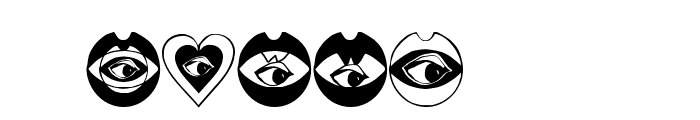 LifeEyecons Font OTHER CHARS