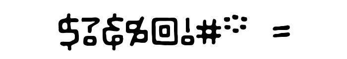 LifeForm BB Font OTHER CHARS