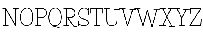 LifeSavers-Regular Font UPPERCASE