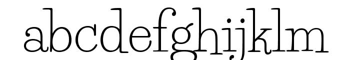 LifeSavers-Regular Font LOWERCASE