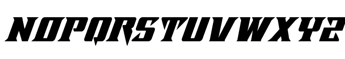Lifeforce Super-Italic Font UPPERCASE