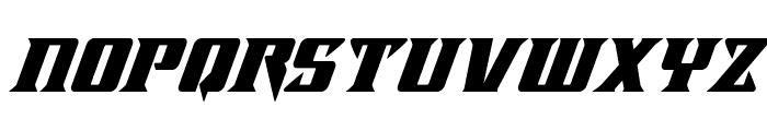 Lifeforce Super-Italic Font LOWERCASE