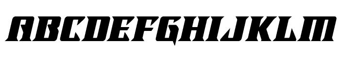 LifeforceItalic Font LOWERCASE