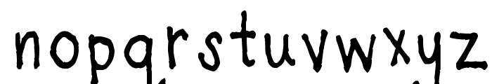 Light of the World Font LOWERCASE
