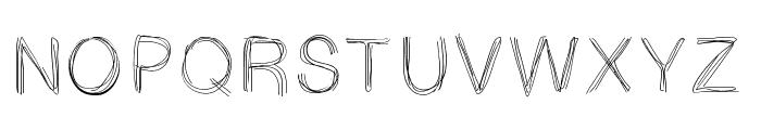 LightScribe Font UPPERCASE