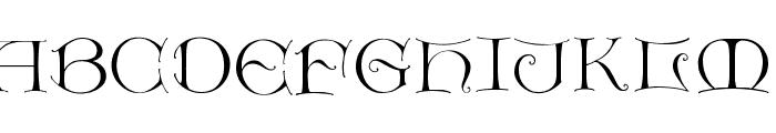 LightUnciale Font UPPERCASE