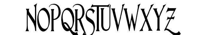 Lightfoot Narrow Extra-condensed Regular Font UPPERCASE