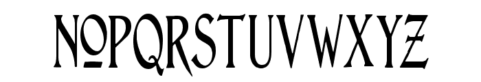 Lightfoot Narrow Extra-condensed Regular Font LOWERCASE