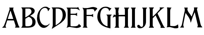 Lightfoot Font LOWERCASE