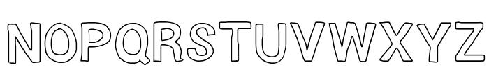 Lighthead Font UPPERCASE