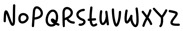 Lighthearted Pleasure Font LOWERCASE