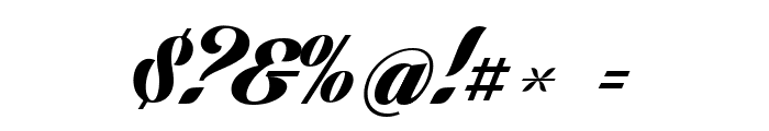 Lighthouse Personal Use Font OTHER CHARS