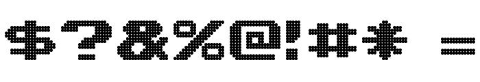 Lightman Pixel Font OTHER CHARS
