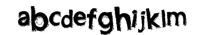 LightningBlaze Font LOWERCASE