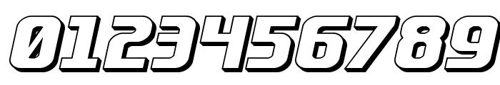 Lightsider 3D Font OTHER CHARS