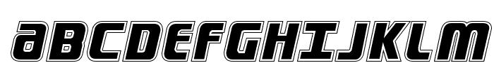 Lightsider Academy Regular Font UPPERCASE
