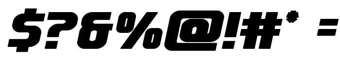 Lightsider Bold Font OTHER CHARS