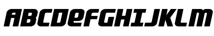 Lightsider Bold Font UPPERCASE