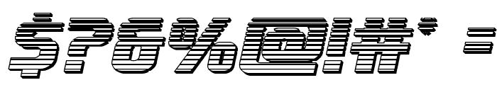 Lightsider Chrome Font OTHER CHARS