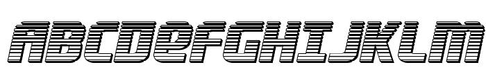 Lightsider Chrome Font UPPERCASE