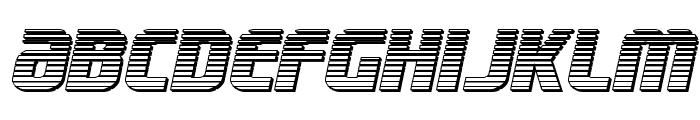 Lightsider Chrome Font LOWERCASE