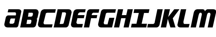 Lightsider Compact Regular Font UPPERCASE