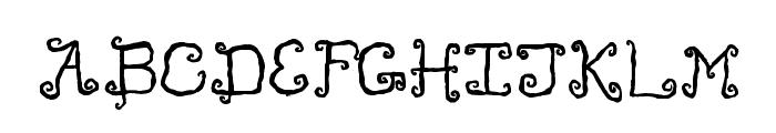 Like Cockatoos Bold Font UPPERCASE