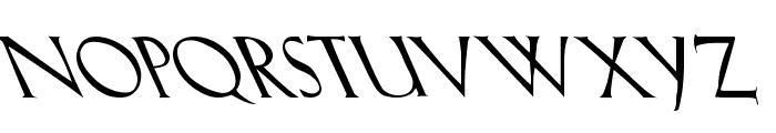 Lil Hvy Leftie Font UPPERCASE