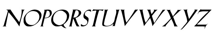 LilHvy Italic Font UPPERCASE