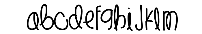 LilSpider Font LOWERCASE