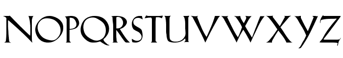 Lilith-Heavy Font UPPERCASE
