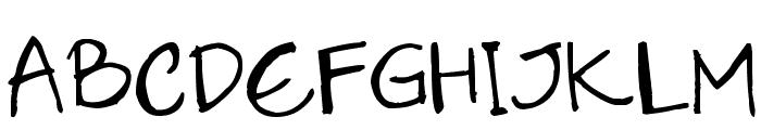 LilithScript Font UPPERCASE