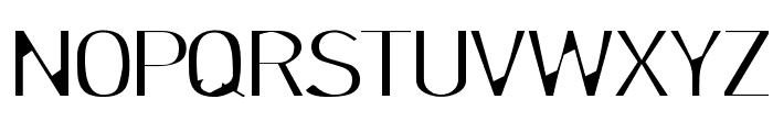 LillSnase Font UPPERCASE