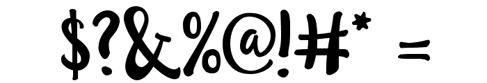 LillyBelle Font OTHER CHARS