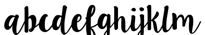LillyBelle Font LOWERCASE
