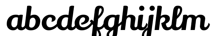 Lily Script One Font LOWERCASE