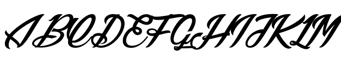 Lily of the Valley_Personal_Use Font UPPERCASE