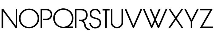 LimitBreak-Regular Font UPPERCASE