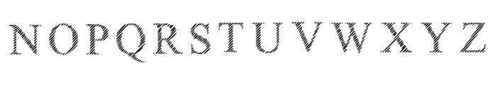 Limited Grids Regular Font UPPERCASE