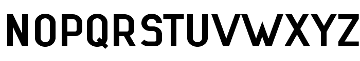 Lindau Bold Font UPPERCASE