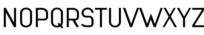 Lindau Light Font UPPERCASE