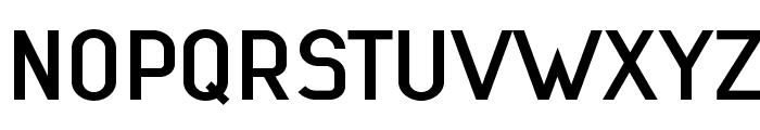 Lindau Medium Font UPPERCASE