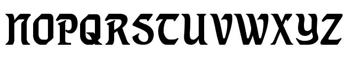 Lindberg Font UPPERCASE